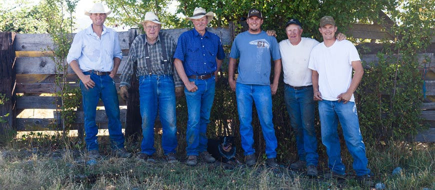 Five Generations Strong — Ranching — It's a Family Affair!